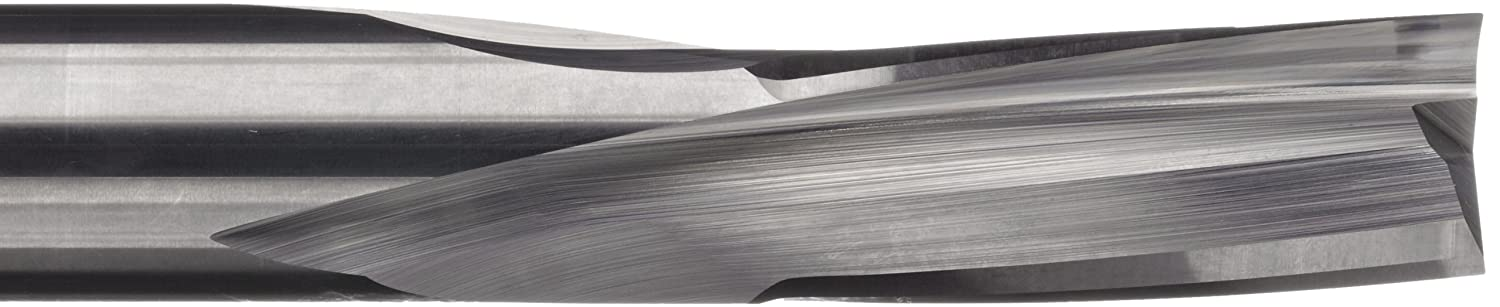 Bright LMT Onsrud 60-250 Solid Carbide Downcut Low Helix Finisher Cutting Tool 3.5000 Overall Length Uncoated Inch 10 Degree Helix Finish 0.5000 Shank Diameter 3 Flutes 0.5000 Cutting Diameter