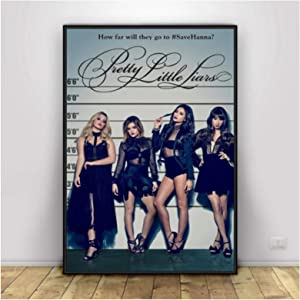 DrCor Pretty Little Liars Posters and Prints Canvas Painting Wall Art Pictures for Living Room Decor -20x30 Inch No Frame 1 PCS