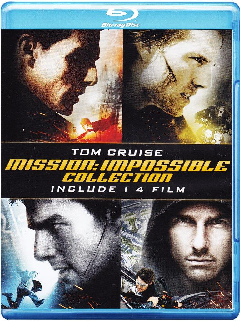 Mission Impossible - La Quadrilogia 4 Blu-Ray Italia Blu-ray ...