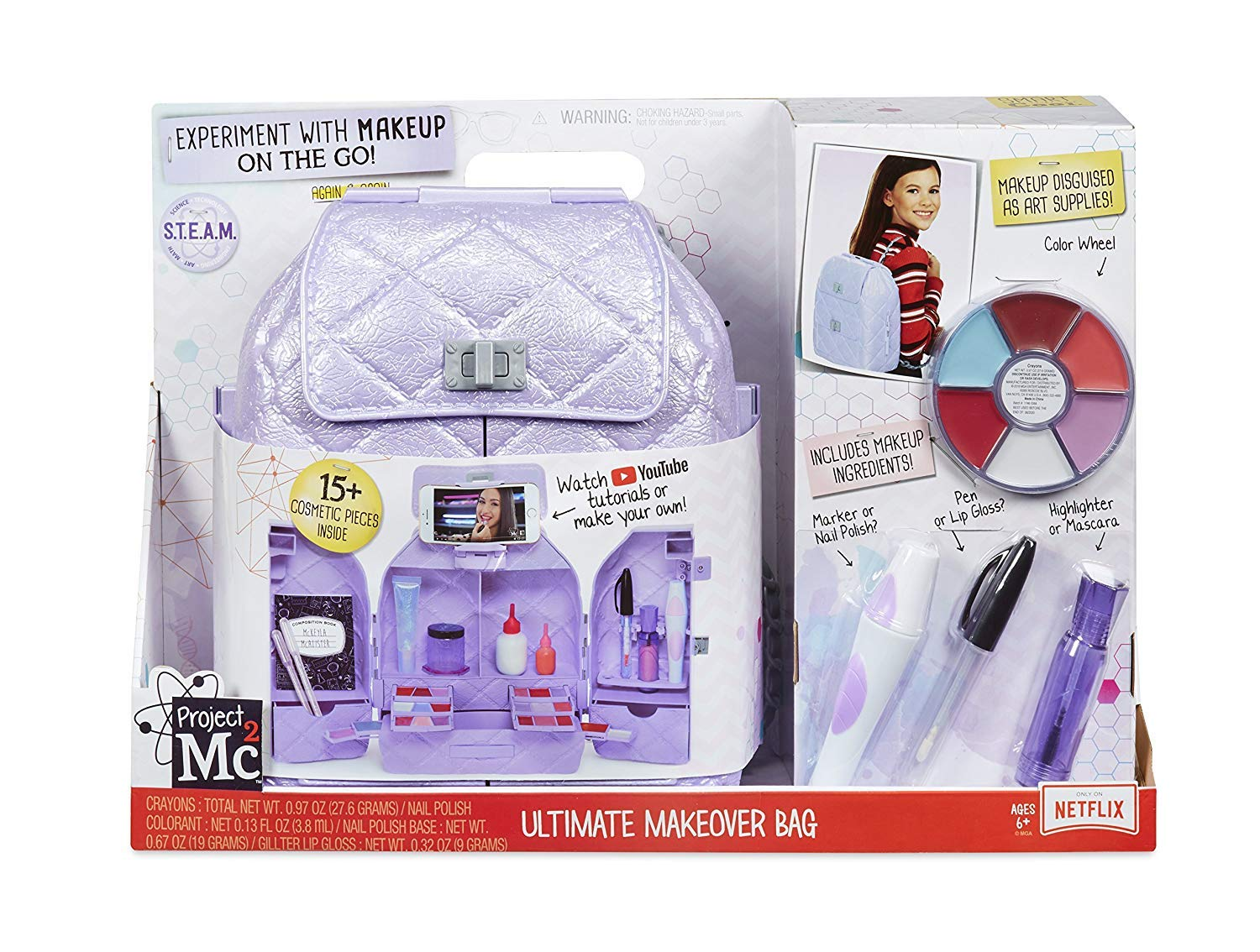 Project Mc2 Ultimate Makeover Bag MGA Entertainment 555827