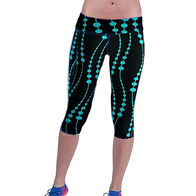 967bb2f891d Puissant Ncn Nice Women Print Black Pants Capris Women Leggings ...