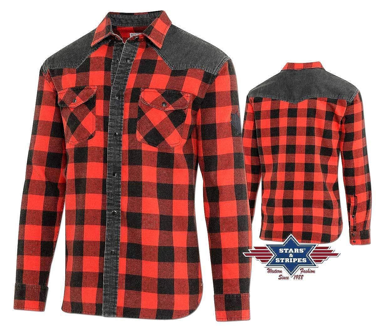 STARS & STRIPES Herren Westernhemd Country Cowboy »Lumberjack« von
