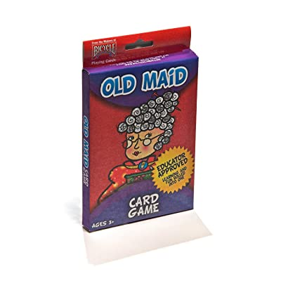 "Hoyle Old Maid Kids 2.3"" x 3.5"" Playing Cards - 1 Deck: Toys & Games"