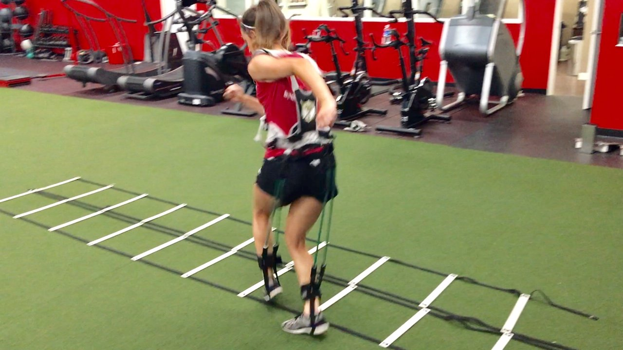 MASS Suit Speed Series by Juke Performance - Professional grade athletic speed training system - Full body resistance exercise equipment - Athletic sports system for football, basketball & Soccer. by MASS SUIT (Image #5)