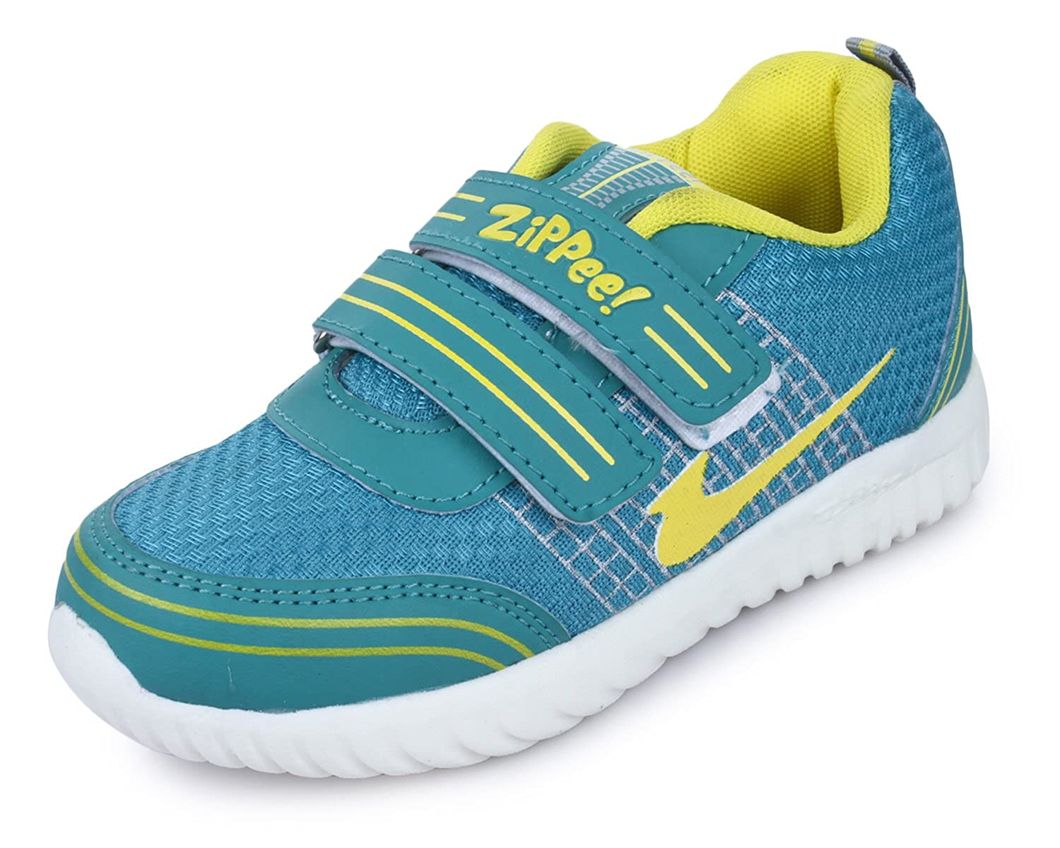 4e83202b7e42 TRASE Zippee-HY Sports Shoes for Boys-Girls (for Age  2-12 Years)  Buy  Online at Low Prices in India - Amazon.in