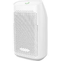 Hysure Quiet and Portable Dehumidifier Electric, Air Purifier, Deshumidificador, Home Dehumidifier for Bathroom, Crawl Space, Bedroom, RV, Baby Room, White