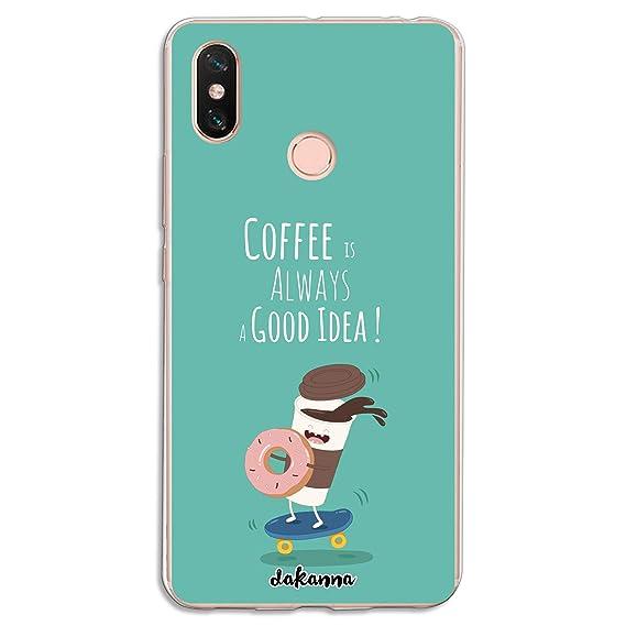 dakanna Funda para Xiaomi MI MAX 3 | Comida Café y Donut en ...
