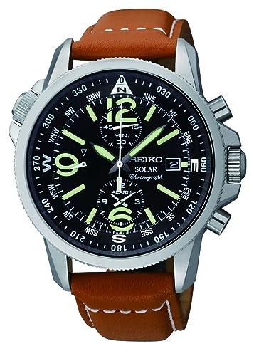 Seiko Men s SSC081 Adventure-Solar Classic Casual Watch