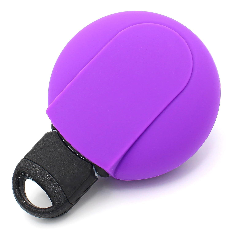 Llave M/óvil MIB para 3/Botones Llave de Coche Silicona Cover de Finest de Folia Negro