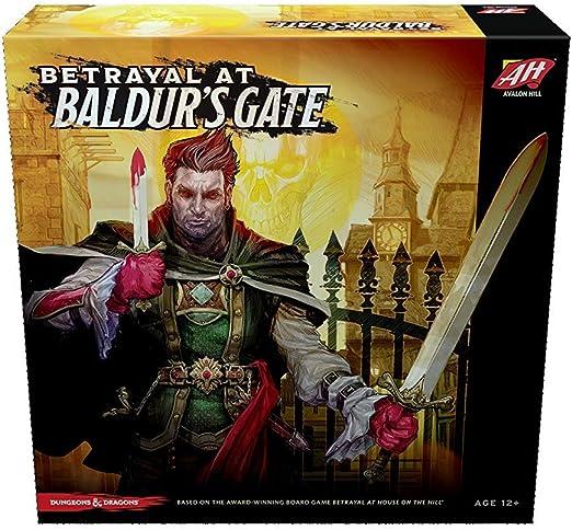 Avalon Hill Board Game Betrayal at Baldurs Gate English Wizards Coast Giochi: Amazon.es: Juguetes y juegos