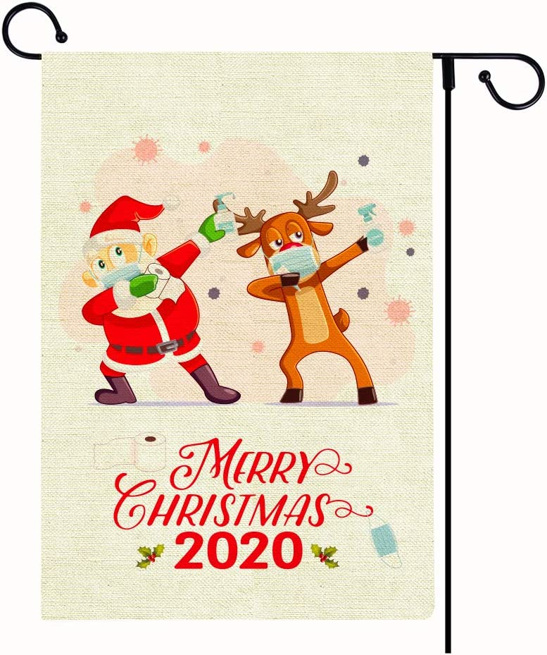 SICOHOME 2020 Christmas Garden Flag, 13