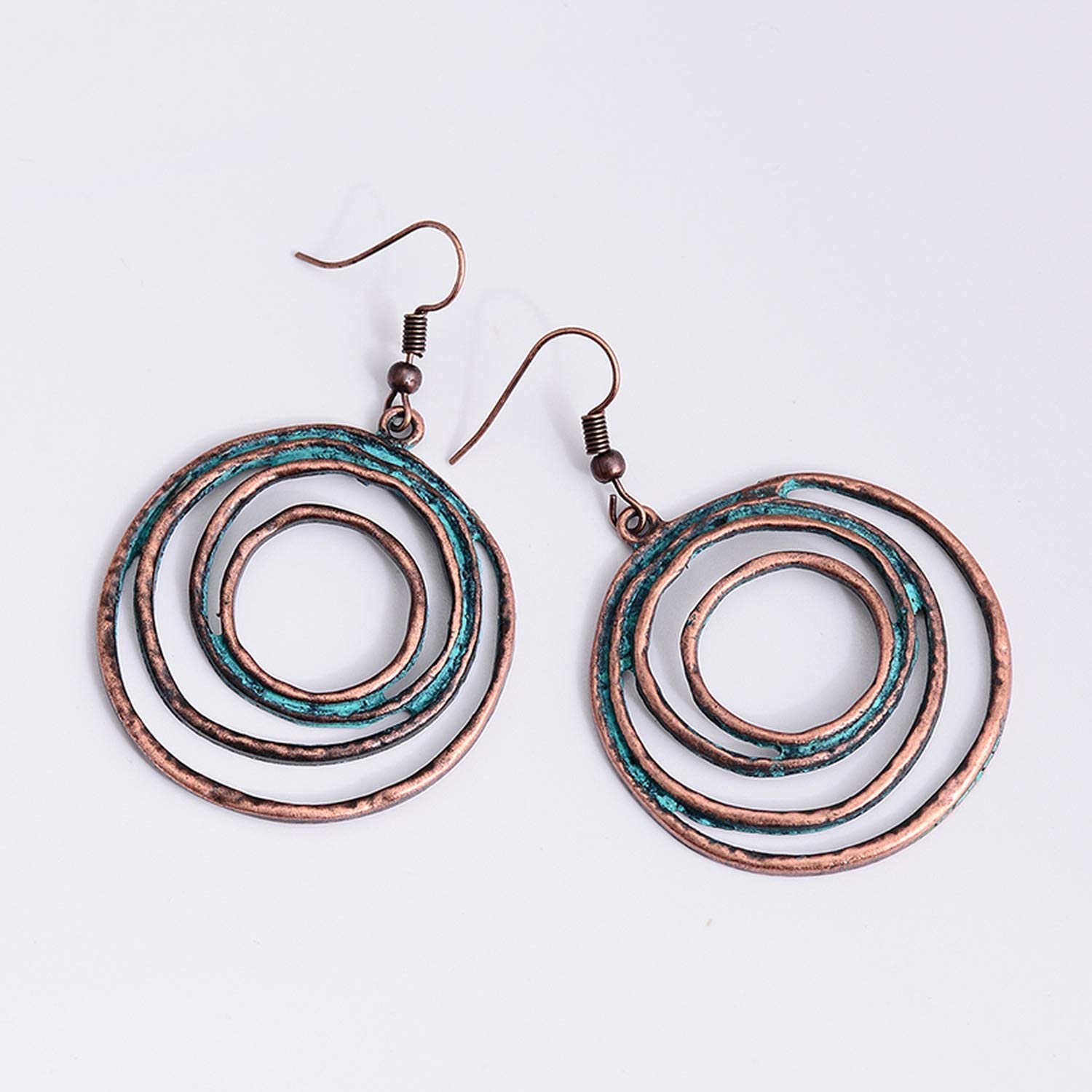 DLNCTD Novel This is an Upgrade Earrings,Charm Pendant Punk Style Copper Drop Earrings Creative Girls Jewelry,AN001161