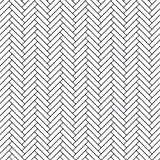 Carousel Designs White and Navy Classic Herringbone Fabric by the Yard - Organic 100% Cotton