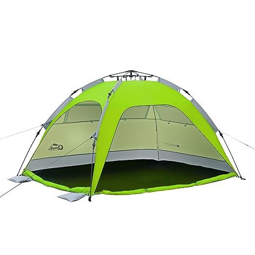 17 opinioni per Qeedo Quick Palm Tenda da Spiaggia (Quick-Up-System), Parasole Spiaggia con