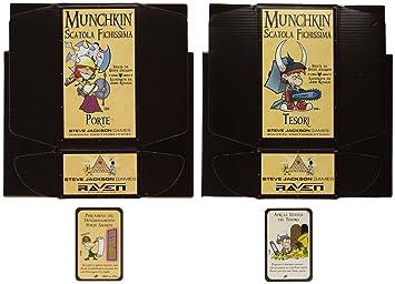 Raven Cuervo - Cajas de Munchkin Accesorios Muy Cool: Amazon ...