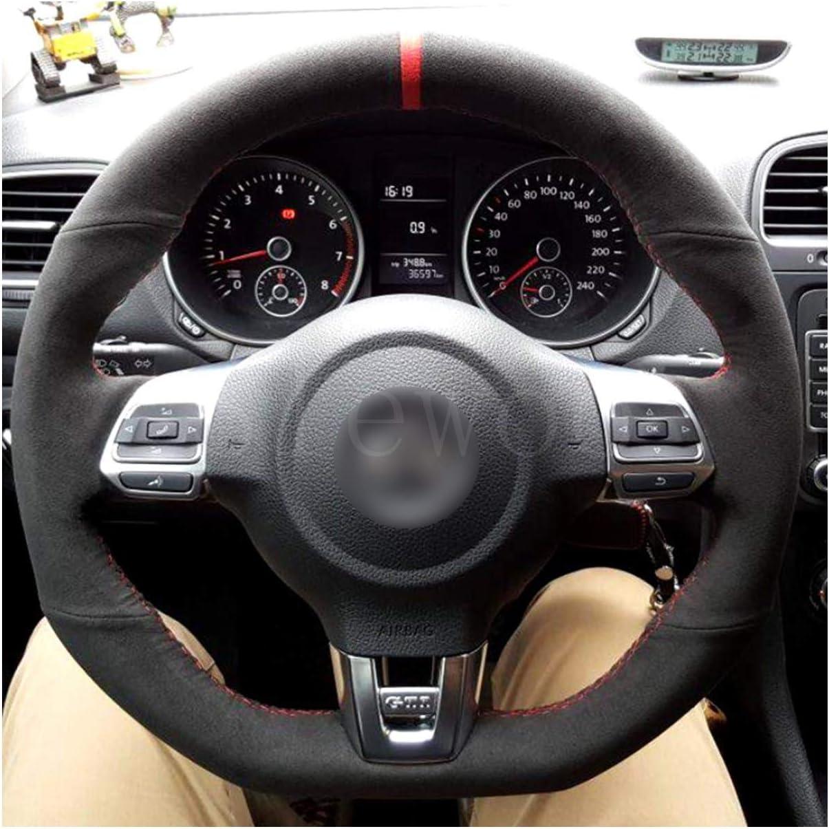 DIY cubierta del volante del coche zurriago ajuste personalizado ...