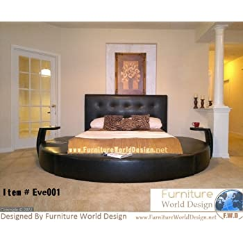 round bed furniture. Queen Size Round Bed With 2 Night Stande Round Bed Furniture