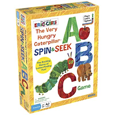 Briarpatch The World of Eric Carle The Very Hungry Caterpillar Spin & Seek ABC Game: Game: Toys & Games