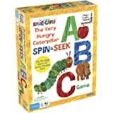 Briarpatch The World of Eric Carle The Very Hungry Caterpillar Spin & Seek ABC Game