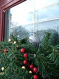 Adams Christmas 5750-88-1040 Giant Suction Wreath