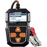 mewmewcat Testador de carga de bateria de carro KW208 12V Analisador alternador automotivo profissional - Teste de tensão de