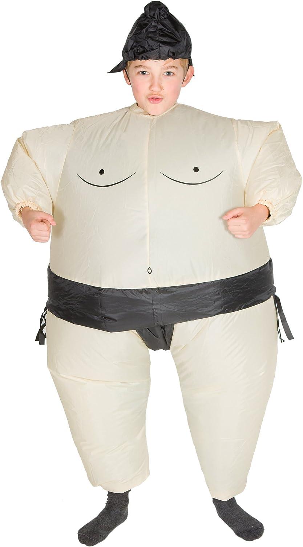 Bodysocks® Disfraz Hinchable de Luchador de Sumo Niño: Amazon.es ...