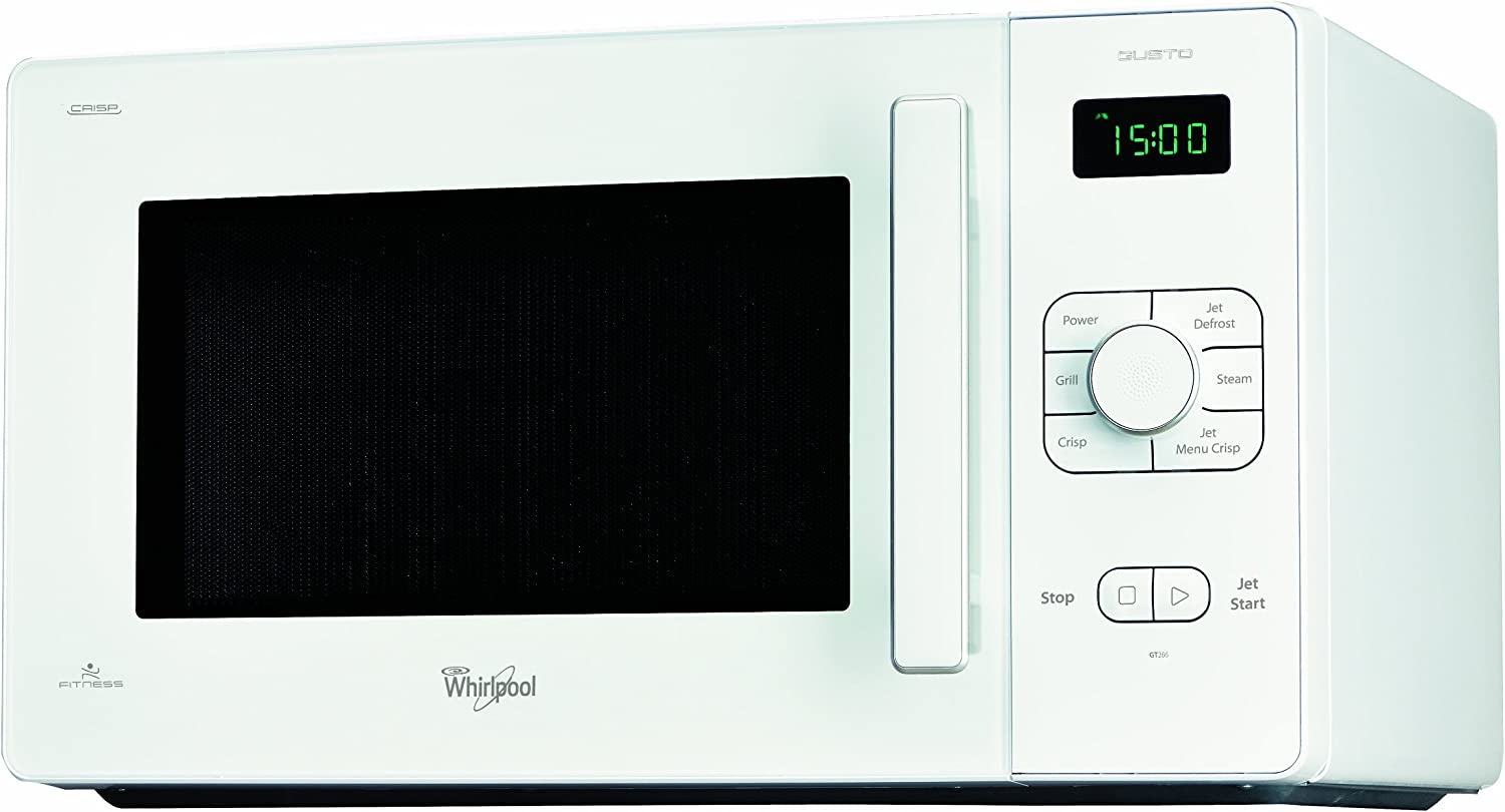 Whirlpool GT 286 WH - Microondas (10 A, 1900 W, 521 mm, 391 mm ...