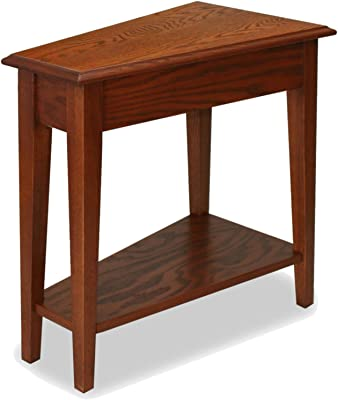 Furniture Favorite Finds Recliner Wedge Table In Medium Oak + Expert Guide