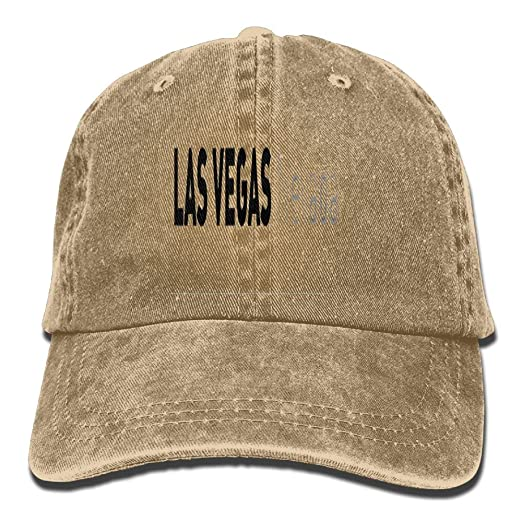 Amazon.com  LAS Vegas Nevada New Fashion Adjustable Washed Cap Cowboy  Baseball Hat Natural  Clothing 0bb9ab19eaa