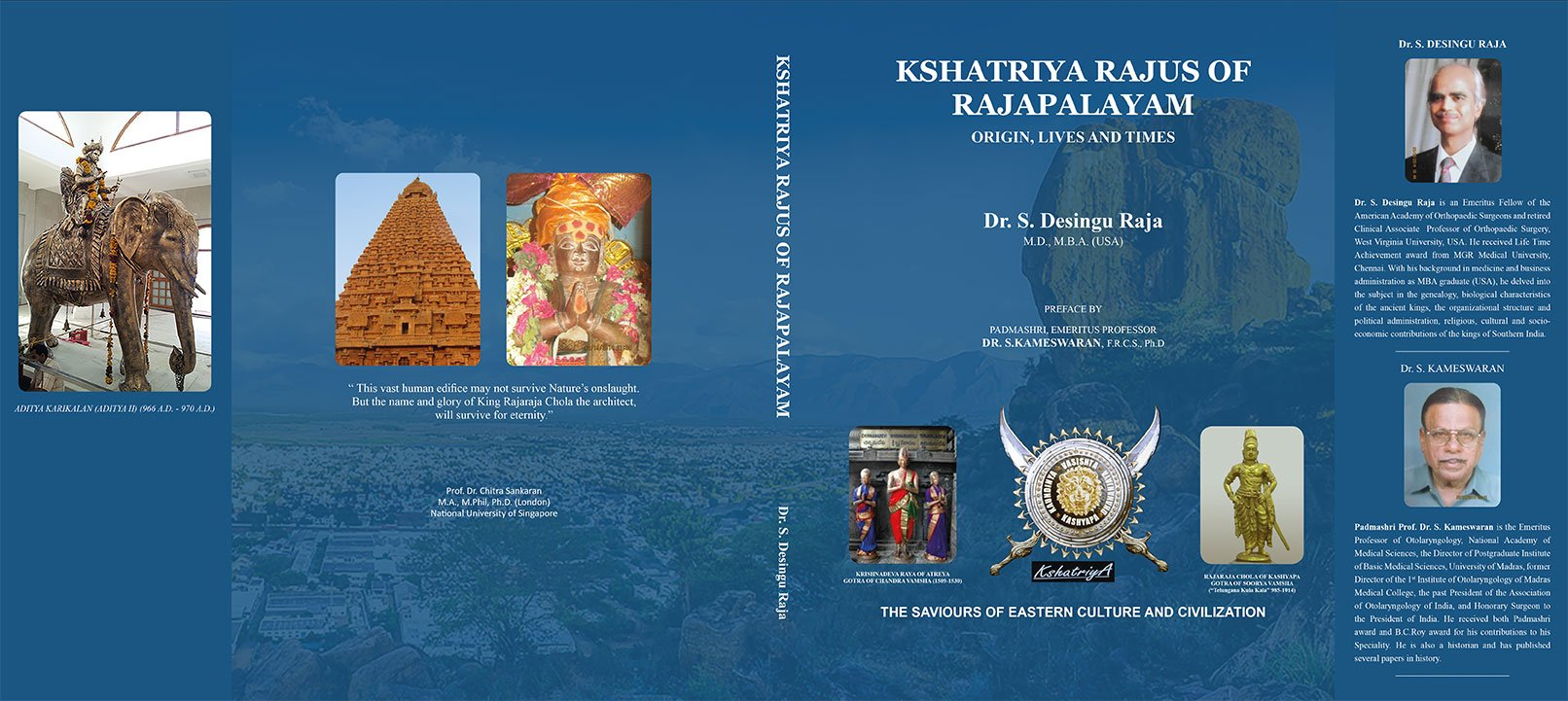 Amazon in: Buy Kshatriya Rajus of Rajapalayam : Origin, Lives and