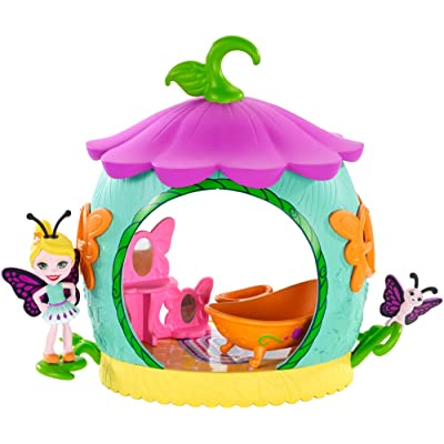 Enchantimals Cocoon Bathroom Playset with Baxi Butterfly Doll: Toys & Games