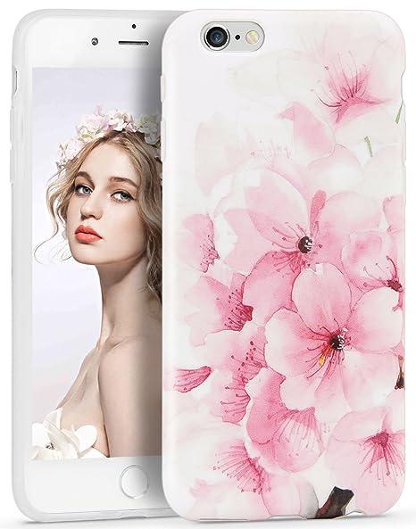 1d9ac0652a Imikoko iPhone6s ケース iPhone6ケース アイフォン6sケース スマホケース case 保護カバー 花柄 おしゃれ 人気