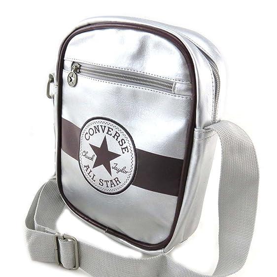 converse silver bag