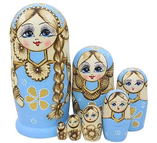 Handmade Matryoshka Wishing Dolls