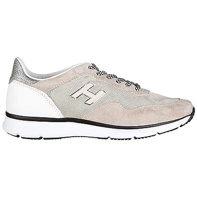 Hogan Traditional 20.15 Zapatillas Deportivas Mujer Beige 38.5 EU: Amazon.es: Zapatos y complementos