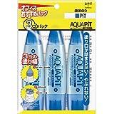 トンボ鉛筆 液体のり アクアピット 3個 HCA-311