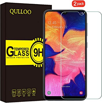 QULLOO Protector de Pantalla para Samsung Galaxy A10 / M10 / M20 ...