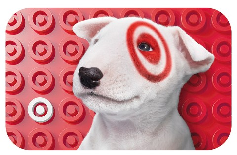 Puppy with Bullseye GiftCard : Target