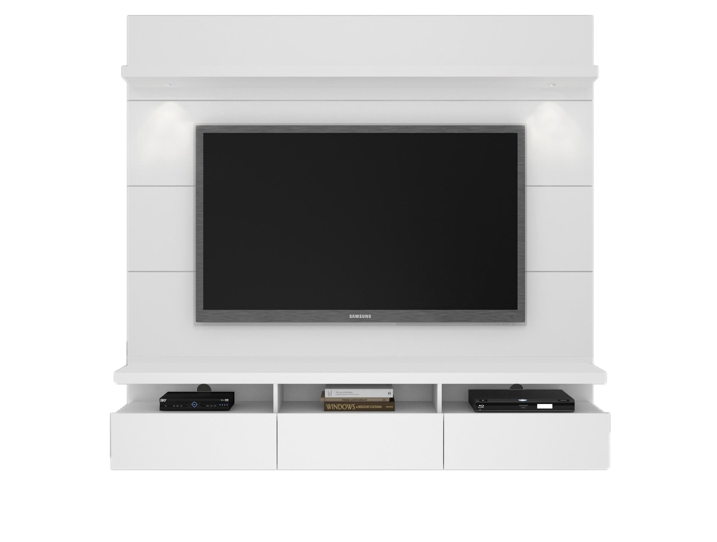 Manhattan Comfort 23852 Manhattan Comfort Cabrini Theater Entertainment Center Panel 2.2 in White