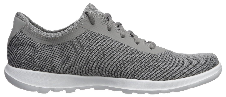 Skechers Women's Go Walk B(M) Lite-15360 Sneaker B071XDL9ZC 5.5 B(M) Walk US|Gray 0e848f