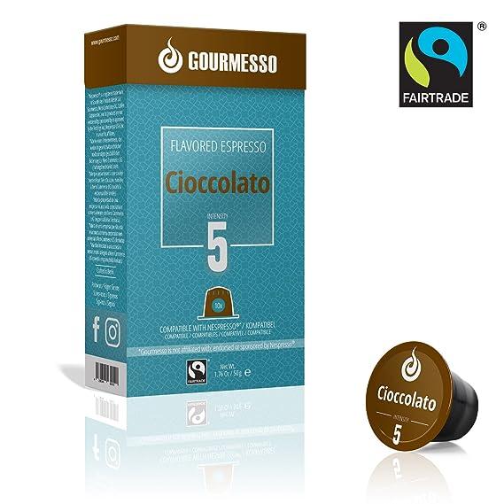 Gourmesso Cioccolato (10 Capsulas)