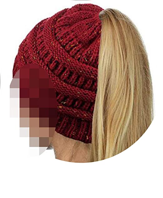 9c481d48a86 Image Unavailable. Image not available for. Color  Winter Hats for Women  Crochet Knit Cap Beanies Warm Caps Stylish Hat ...