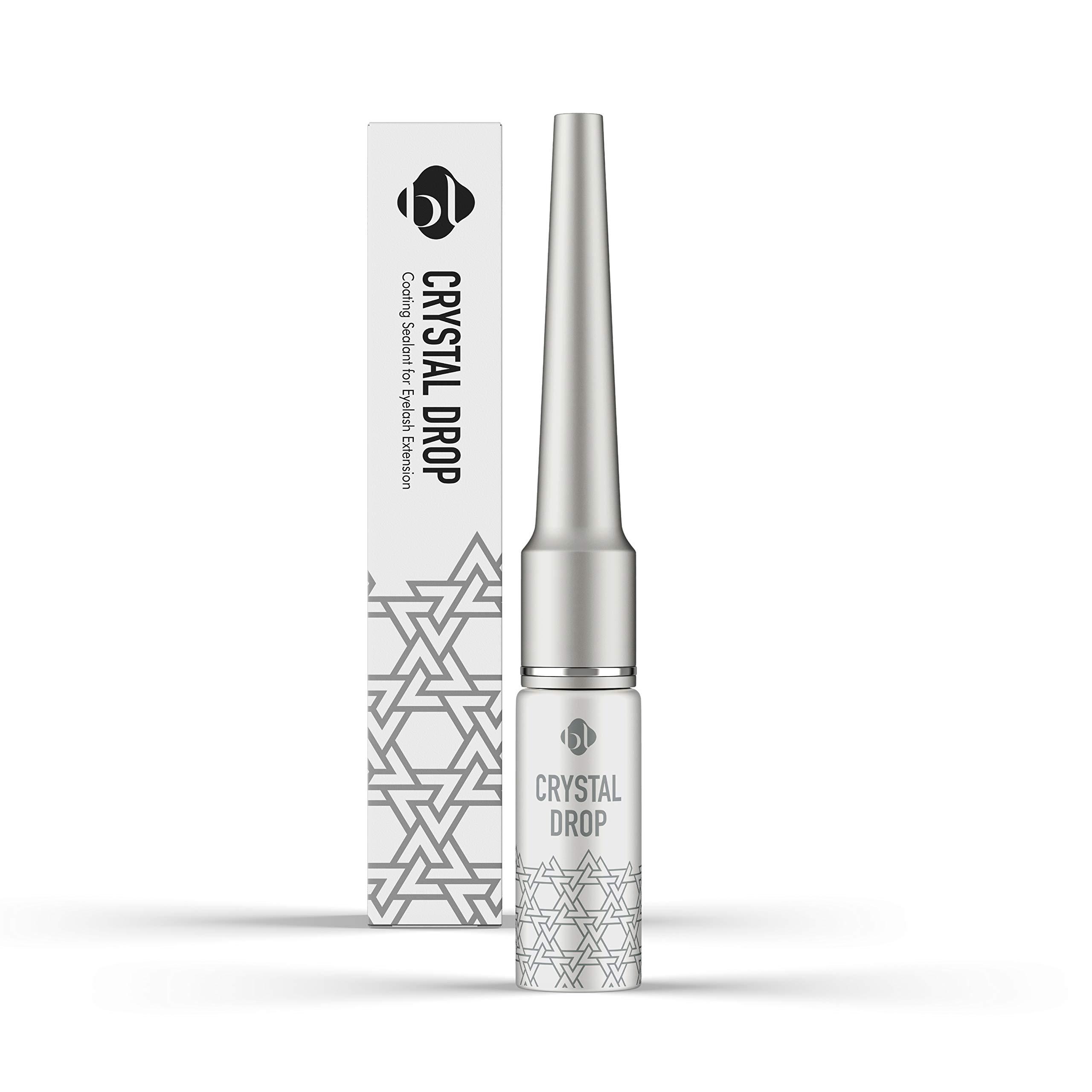 Crystal Drop clear eyelash coating sealant for eyelash extension aftercare | Better retention and eyelash growth | Clear lash sealer, 7ml