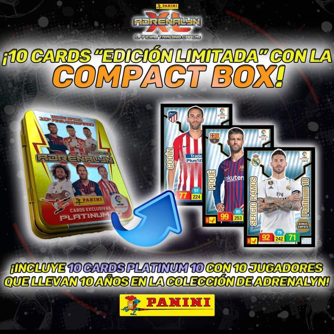 Amazon.com: Panini- 003714TINSE Compact Box 10 Years ...