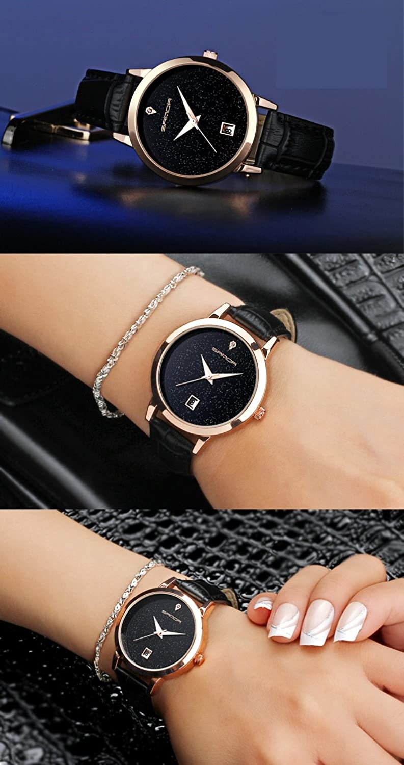 Amazon.com: Reloj De Mujer Fashion Moda Women Casual Quartz Wristwatch Relogio Feminino RE0066: Watches