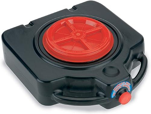 Lumax LX-1632 Drainmaster Drain Pan with Waste Oil Storage Black