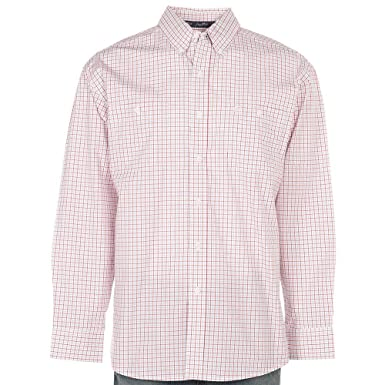 dc57def9 Wrangler Men's George Strait Two Pocket Long Sleeve Button Shirt at Amazon  Men's Clothing store: