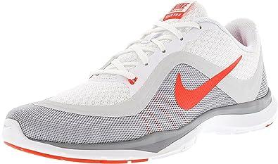 d0e52eaa6ca3 Nike New Women s Flex Trainer 6 Cross Trainer White Crimson 9 ...