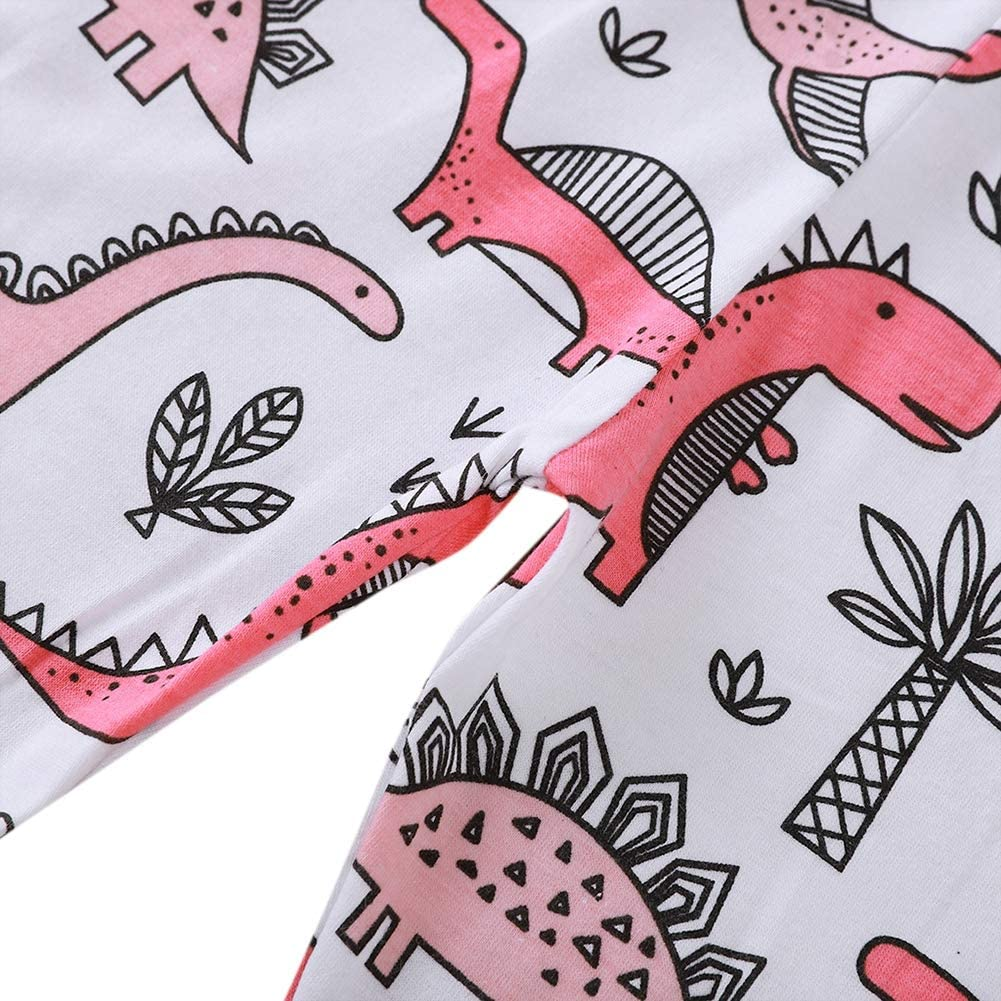 Baby Outfit Little Miss Sassy Pant Dinosaur Printed Clothes Set Newborn Girl Costumes