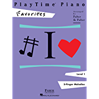 PlayTime Piano Favorites - Level 1 book cover